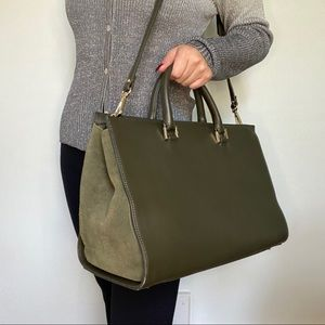 Danier genuine leather satchel bag